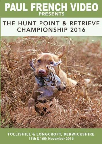 2016 Hunt Point & Retrieve Championship